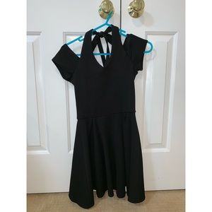 Sallymiller juniors XS black dress